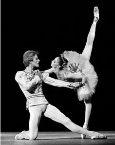 Suzanne Farrell and Peter Martins by ilene