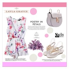 """""""Floral Romper"""" by aminkicakloko ❤ liked on Polyvore"""