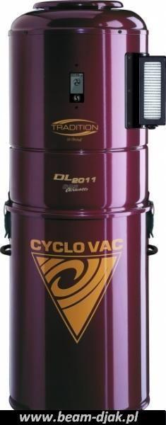 Odkurzacz Centralny CYCLOVAC DL 2010-2011.