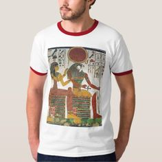 Shop Ancient Egyptian Horus T-Shirt created by MidnightDreamer. Personalize it with photos & text or purchase as is! Ringer Tee, Casual Looks, The Dreamers, Egyptian, Vintage Inspired, Fitness Models, Retro, Tees, Fabric