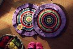 Evolution Of My Crochet Pouf – Part 3 (Photography Project 365 – Day 72)