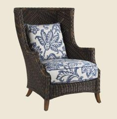 Inspired by one of our best selling indoor frames, this high back wing chair is attractive for both its design and comfort. On sale now at almost 40% off the regular price!