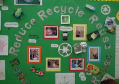 teaching reduce reuse recycle | How can we help our environment? Find out in this wonderful display ...
