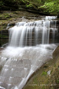 Buttermilk Falls Sate Park | Upstate New York | Finger Lakes Region  - GREAT WATERFALLS!