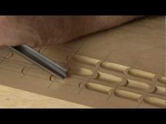 172 My Chip Carving - 8 inch flat plate rosette - YouTube