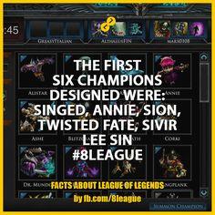 Twisted Fate, League Of Legends, The One, Annie, Champion, Image, Design, League Legends