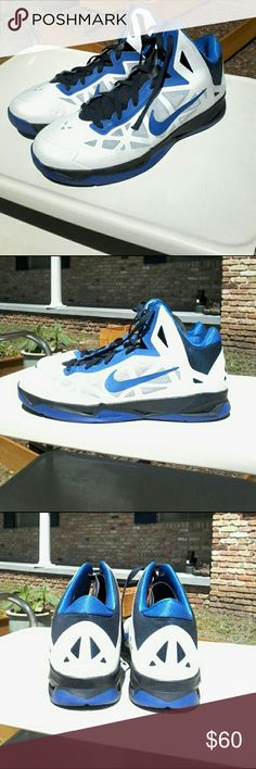 Nike Zoom Hyperchaos Photo Blue Wolf Grey Black