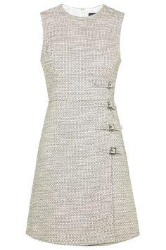 Buckle Detail Shift Dress