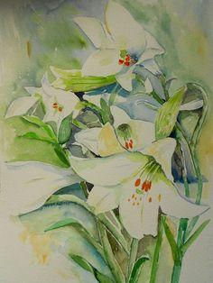 'Lilium' von Maria Földy bei artflakes.com als Poster oder Kunstdruck $18.03