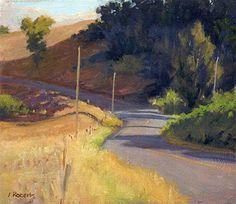 "Ian Roberts ~ ""Last light on highway 1"""