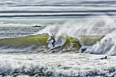 Surfing the New Jersey shore. Jersey Girl, New Jersey, Great Places, Beautiful Places, Beach Bum, East Coast, Niagara Falls, Surfing, Waves