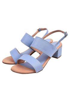 Sandália Donna Santa Lisa Fosca Azul Claro - Marca Donna Santa Blue Sandals, Lisa, Most Beautiful Pictures, Light Blue, Shoes, Massage, Number, Products, Design