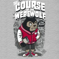 Camiseta 'The Course Of The Werewolf' - Catalogo Camiseteria.com | Camisetas Camiseteria.com - Estampa, camiseta exclusiva. Faça a sua moda!