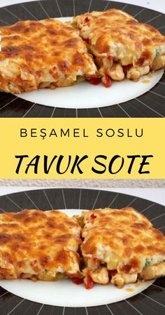 Garnitürlü Beşamel Soslu Tavuk Sote – Nefis Yemek Tarifleri Chicken Saute with Garnish and Bechamel Sauce # Beşamelsoslutavuksot to foods foods the Yummy Recipes, Fun Easy Recipes, Meat Recipes, Healthy Dinner Recipes, Salad Recipes, Easy Meals, Yummy Food, Chicken Recipes, Beef Sauce