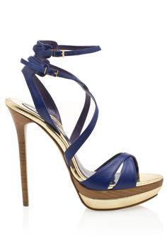 Elie Saab strappy high heel sandal