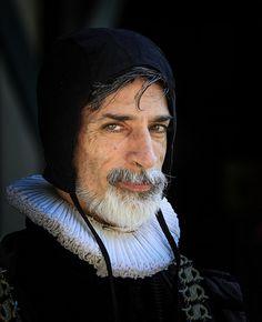 "Bristol Renaissance Faire. Sir Francis Walsingham. Principal secretary to Queen Elizabeth I of England. ""Spymaster""."