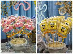 Venha se apaixonar por esta linda Festa Bob Esponja!!Imagens Fabiana Moura Projetos Personalizados.Lindas ideias e muita inspiração.Bjs, Fabíola Teles.Mais ideias lindas: Fabiana Moura Projetos ...