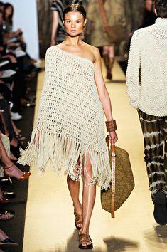 crochet chic : Michael Kors NYFW SPRING SUMMER 2012