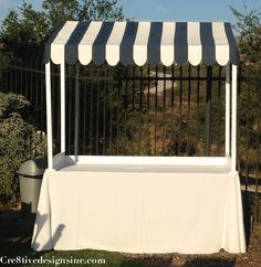 I'd like to figure out how to make a tabletop canopy out of PVC.  (Lightweight and portable if it could come apart...)