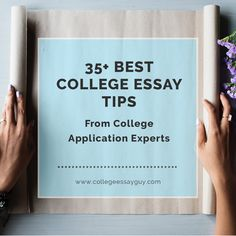 Check out these 39 college essay tips from experts in the admissions world. Use these college application essay tips when writing to tell a story that is personal, unique, and effective. College Essay Tips, Best College Essays, College Admission Essay, College Application Essay, College Success, Online College, College Fun, Education College, College Counseling