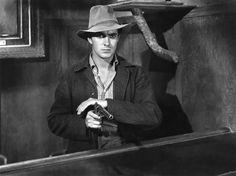 """Tyrone Power en """"Tierra de audaces"""", 1939"""