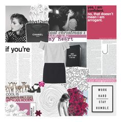 """""""she saw he world through a mason jar"""" by absurd-ambitions ❤ liked on Polyvore featuring Uniqlo, Chanel, Monki, addys12sets, gottatagrandomn3ss and MeenaGotTagged"""