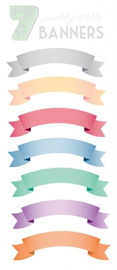 #papercraft #downloads #printables free clip art downloads banners