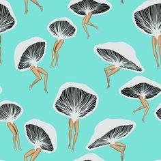 Mushroom Barbie - Jen Gin - LOVE IT!!