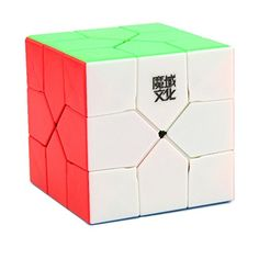 MOYU Redi cubo irregular Magic Cube creativos velocidad rotación suave Puzzle Cube Brain Teasers juguete educativo + un cubo stand (Stickerless multi - color) #MOYU #Redi #cubo #irregular #Magic #Cube #creativos #velocidad #rotación #suave #Puzzle #Brain #Teasers #juguete #educativo #stand #(Stickerless #multi #color)