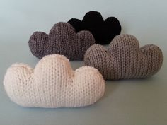Ravelry: cute for a baby mobile or as a pillow