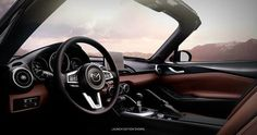 Can a single word describe the all-new MX5RF interior? Give it a try. Mazda, November 2016