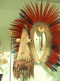 Máscara-arte-plumária-ayapó