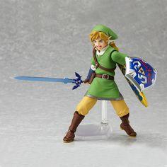 legend of zelda skyward sword | Legend of Zelda: Skyward Sword Link Figma Action Figure | GeekAlerts