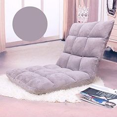 Lazy Sofa Bed Single Washable Foldable Floating Window Chair Dormitory Computer Chair Leisure Lounge Chair  #livingroomdesign #decoration #livingroomdecoration #furniture #2019 #jeeworld