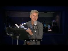 Ellen reads 50 shades of gray. omg im dyinggg. Don't eat the pancakes at Ana's house.