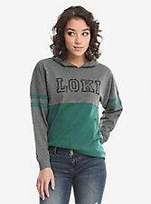 Marvel Loki Retro Jersey Hoodie, Moda Marvel, Looks Style, My Style, List Style, Marvel Fashion, Geek Fashion, Disney Fashion, Marvel Clothes, Fandom Fashion