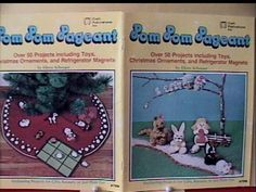 POM POM PAGEANT Book /50 Charming Pompom Crafts ~NEW & OOP! For Kids & All Ages! in Crafts | eBay