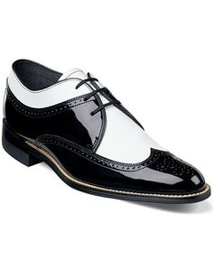 Stacy Adams Dayton Wing-Tip Lace-Up Shoes - Extended Sizes - Men - Macy's