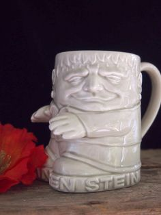 Vintage 1978 Frankenstein Stein mug by RoseleinRarities on Etsy, $34.00