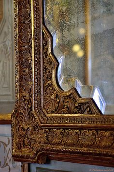 Venezia_caffè Florian dettaglio specchio  Venice_Florian Cafè, mirror detail  (pic taken by me:-)