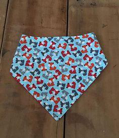 Fox Baby Gifts Bandana Bib for Boy Drool Bib Boy Fox Baby