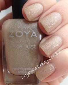 Classy, Simple Pretty Nails - Pixie Dust by Zoya