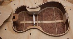 Baritone Ukulele construction, Lichty Guitars