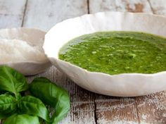 This is the best basil pesto recipe ever.