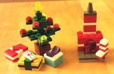 LEGO Custom CHRISTMAS TREE, FIREPLACE, STOCKING, GIFTS/PRESENTS LETTERS TO SANTA! #LEGO #LEGOChristmas
