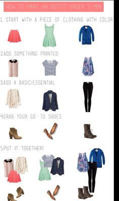 How to make an outfit