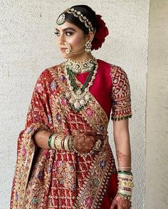 Make Your Bridal Outfit Extraordinary with These Heavy Embroidered Dupattas - SetMyWed