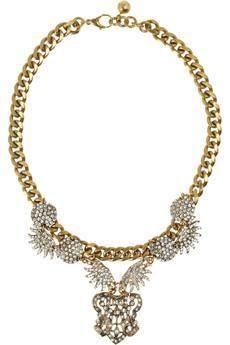Lulu Frost Sunburst Swarovski Necklace