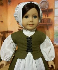 Pilgrim waistcoat-Shown with out the Ruff by Keepersdollyduds, via Flickr