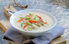 Cheeseburger Chowder, Thai Red Curry, A Food, Soup, Baking, Fruit, Ethnic Recipes, Bread Making, Patisserie